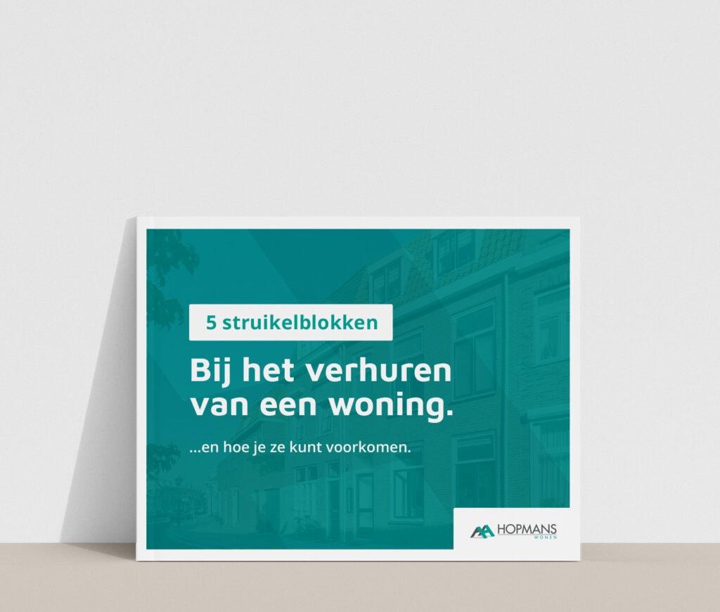 rots in branding brochure ontwerp hopmans wonen magazine laten ontwerpen